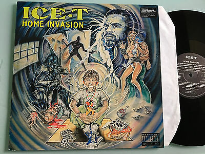 2 LP 1993 SIGNED!!! NM  Ice-T ‎– Home Invasion    Body Count