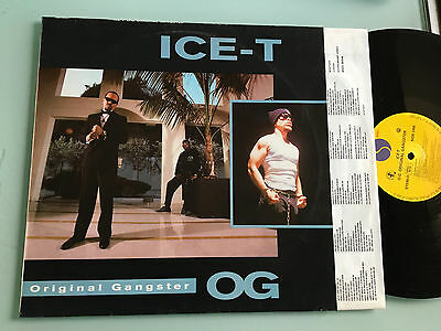 LP 1991 NM   Ice-T ‎– O.G. Original Gangster  Body Count