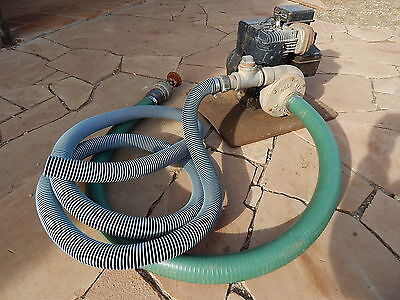 Gold King Water Pump 5 Hp Briggs Dredge Highbanker Trommel Mining Equipment
