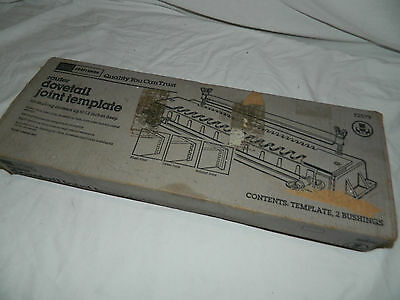 """Craftsman Router 1/4&1/2"""" Dovetail Joint Template Tool #92579 Up to 12"""" deep"""