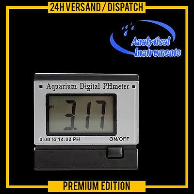 Ph-Meter Messgerät Messer Tester Aquarium Teich Pool **220V**  P06