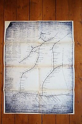 Portsmouth Lines Electrification Southern Region Railway Mileage Diagram Map