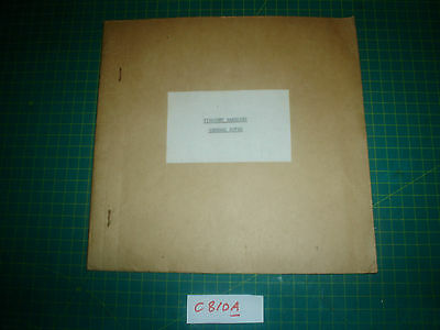 VICKERS VISCOUNT HANDLING NOTES Cambrian Airways C810A Airliner vintage