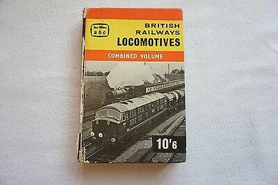 Winter 1960 BR Locomotives Combined Volume abc Book Ian Allan No Underlinings