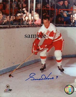 Gordie Howe #1 Reprint Autographed Picture Photo Signed 8X10 Detroit Red Wings