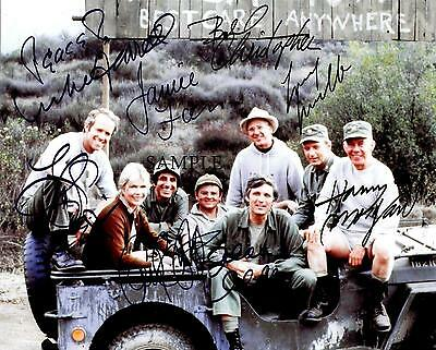 Mash Cast #3 Reprint Autographed Photo Picture Signed 8X10 Christmas Gift Rp Tv