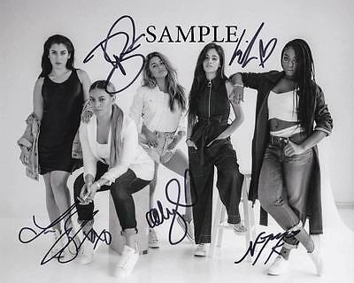 Fifth Harmony #2 Photo Reprint Picture Signed 8X10 Christmas Autographed Rp Gift
