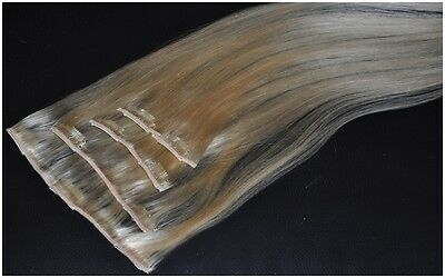 REMY Echthaar - Clip in Hair Extensions - *Superior Quality* - 50cm - NEU
