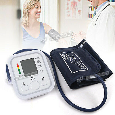 Automatic Digital Upper Arm Blood Pressure Monitor Accurate + 99 Memory Storage