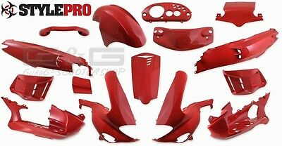 Fairing Kit 15 Fairing parts in red for Gilera Runner 50 125