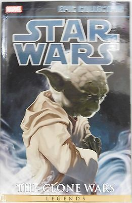 Star Wars The Clone Wars Vol 1 Epic Collection trade paperback Marvel comics