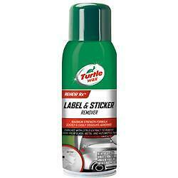 Turtle Wax  T529;Adhesive Remover; RENEW RX