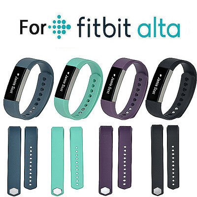 Large/Small Size Replacement Wrist Band Silicon Strap For Fitbit Alta Bracelet
