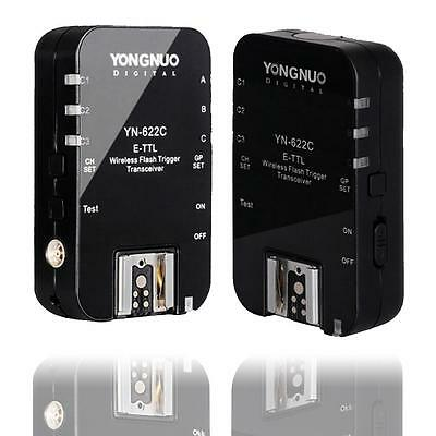 Yongnuo YN-622C Wireless TTL Flash Trigger HSS 1/8000s Flash for Canon