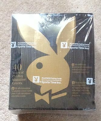 Playboy Chromium Covers Edition One Factory Sealed Box of Trading Cards