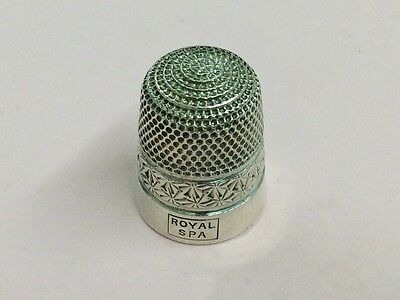 Antique Sterling Silver Thimble By Henry Griffith & Sons 1928