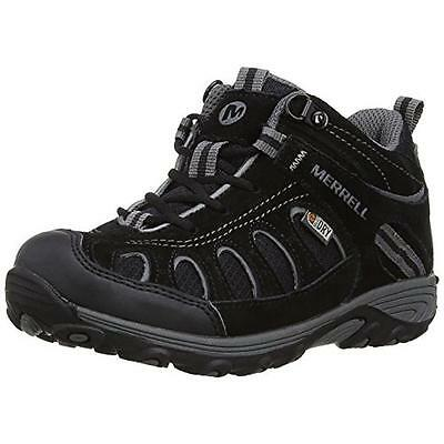 Merrell 4795 Boys Chamaleon Contrast Trim Hiking, Trail Shoes Athletic BHFO