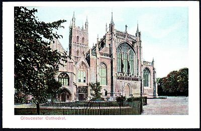 Postcard - Gloucestershire - Gloucester Cathedral.