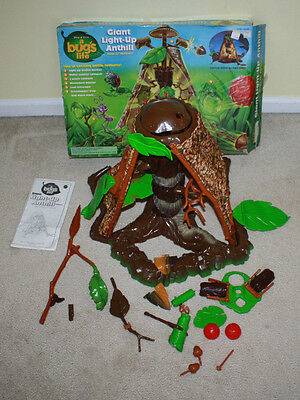 Vintage Bug's Life Light Up Ant Hill - With Box - Free Shipping