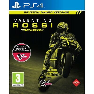 MotoGP 16 Valentino Rossi The Game PS4 Game Brand New