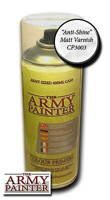 The Army Painter Matt Varnish Spray 400ml