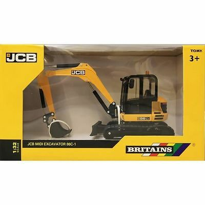 Britains Model - JCB Midi Excavator 86C-1 - 1:32 Scale - 43013 - New