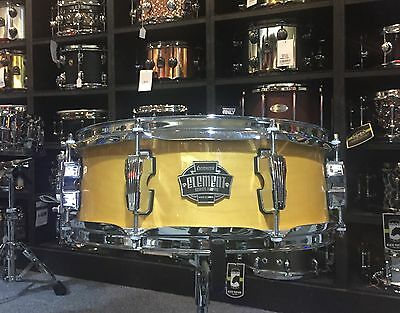 Ludwig Element Birch 14x5in Snare Drum - Rooftop Natural