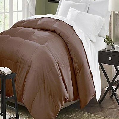NEW Club Le Med All Seasons Down Alternative Comforter: Chocolate/King