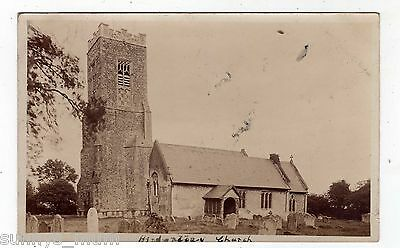 Norfolk, Hinderclay, The Church, 1907, Rp