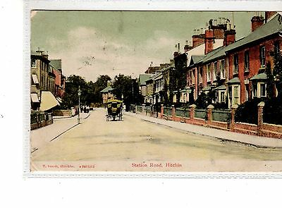 Hertfordshire. Hitchn. Station Road.
