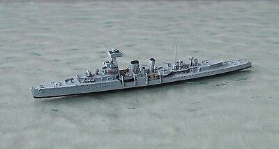 HMS CURLEW Anti Aircraft Cruiser by NEPTUN 1:1250 Waterline Ship Model