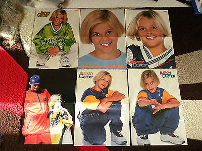 Aaron Carter – Lot of 16 Posters