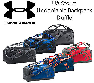 Under Armour UA Storm Undeniable Backpack Duffle Bag 1273255 Water-Resistant