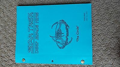 Star Trek Deep Space Nine Ds9 Tv Series Show Script Episode The Circle