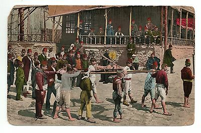 Postcard Constantinople Firefighters