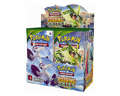 Pokemon XY Roaring Skies Trading Card Game Booster Box New/Sealed
