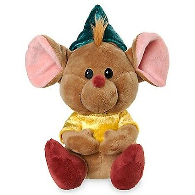 "Disney Store Animators' Collection Gus Mbbp Plush 7"" H Mouse From Cinderella Nwt"
