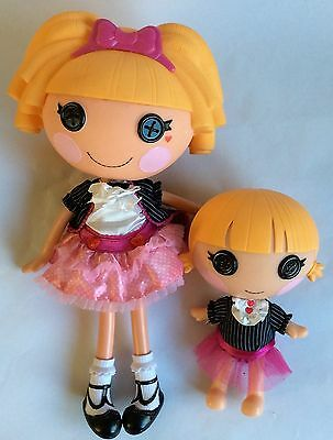 2 X Lalaloopsy Dolls - Misty Mysterious & Tricky Mysterious