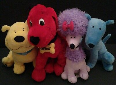 Lot Plush Clifford Toys Kohls Mac T- Bone Cleo