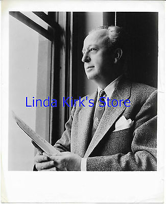 "Howard Barlowe Promotional Photograph ""Voice Of Firestone"" Looking Out Window"