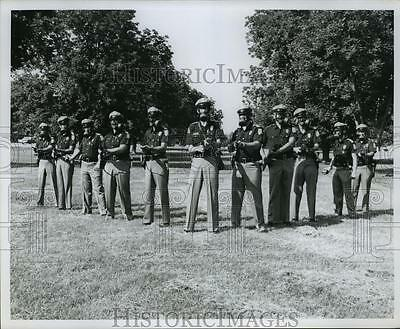 1967 Press Photo Police officers with the Alabama Department of Public Safety.
