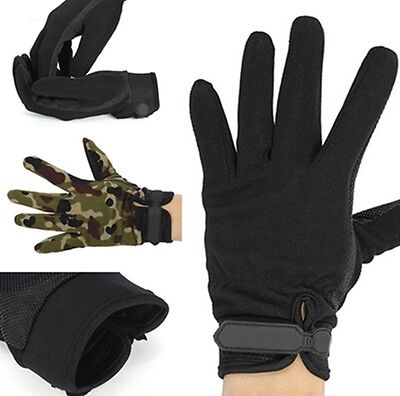 Unisex Camping Military Tactical Airsoft Shooting Hunting Full Finger Gloves