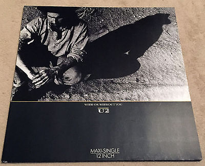 "12"" Maxi-Single - U2 - With Or Without You - Island 608922 - Germany - TOP !!"