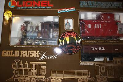 G Scale - Lionel 81000 Gold Rush Special Set- Mint