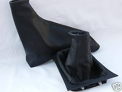 FITS  ASTRA MK4 G VAUXHALL OPEL 1998-2009 GAITERs SET  LEATHER