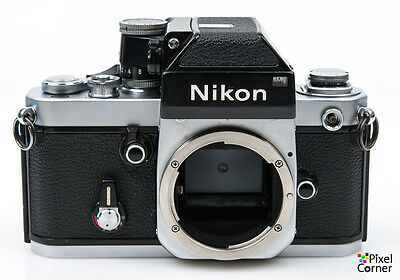 Nikon F2 Photomic 35mm film SLR Chrome camera body + DP1 head 7324489 (7117)