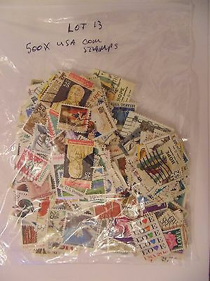 Lot 13 - Collection Of 500 Mixed USA Stamps