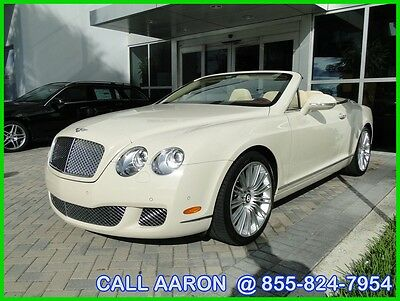 2011 Bentley Continental GT WE SHIP, WE EXPORT, WE FINANCE 2011 Speed Used Turbo 6L W12 48V Automatic All Wheel Drive Premium