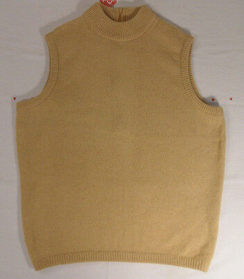 Vintage Peck & Peck Fifth Avenue 100% Camel Hair Sweater Shell sz 38