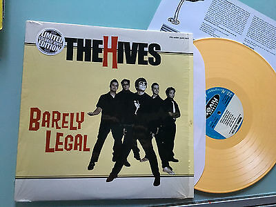 LP USA 2001 YELLOW  The Hives – Barely Legal Label: Gearhead Records – RPM030